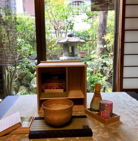 「旅する茶室」in 京都