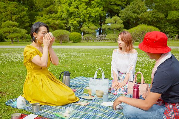 お抹茶時間ピクニック