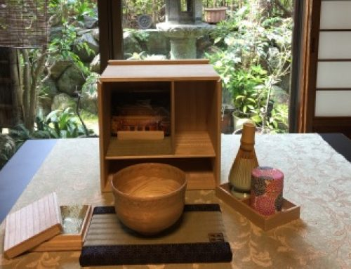 【8月の企画】旅する茶室&基本の『き』3回レッスン セットがお得です♪